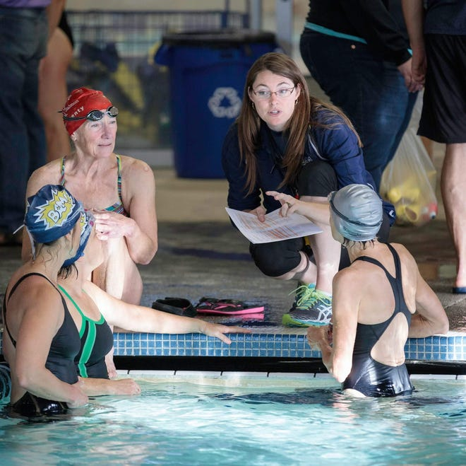 April Cheadle, coach of the Bainbridge Aquatic Masters, was recently honored as the top masters swim coach in the country.