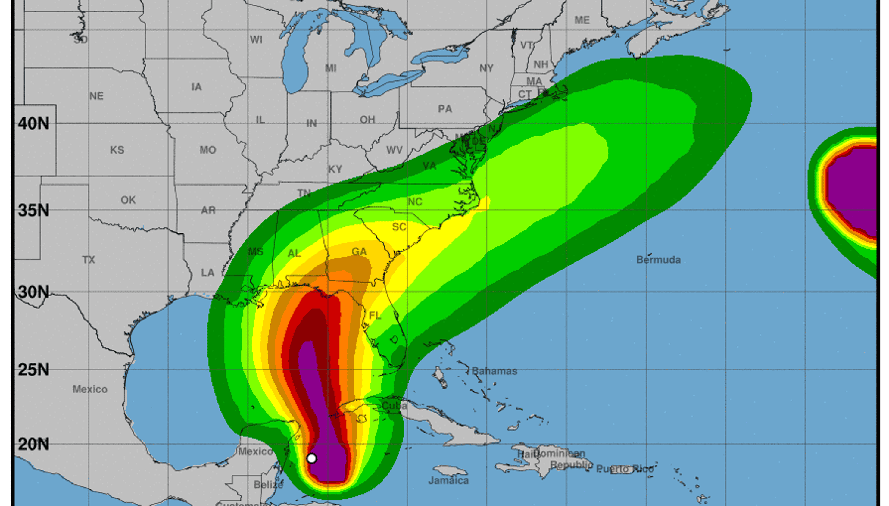 Tropical Storm Michael Stronger Could Impact Florida As A Hurricane