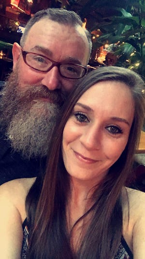 Ragon Wilson, shown with her husband Christian, is undergoing treatment for breast cancer.
