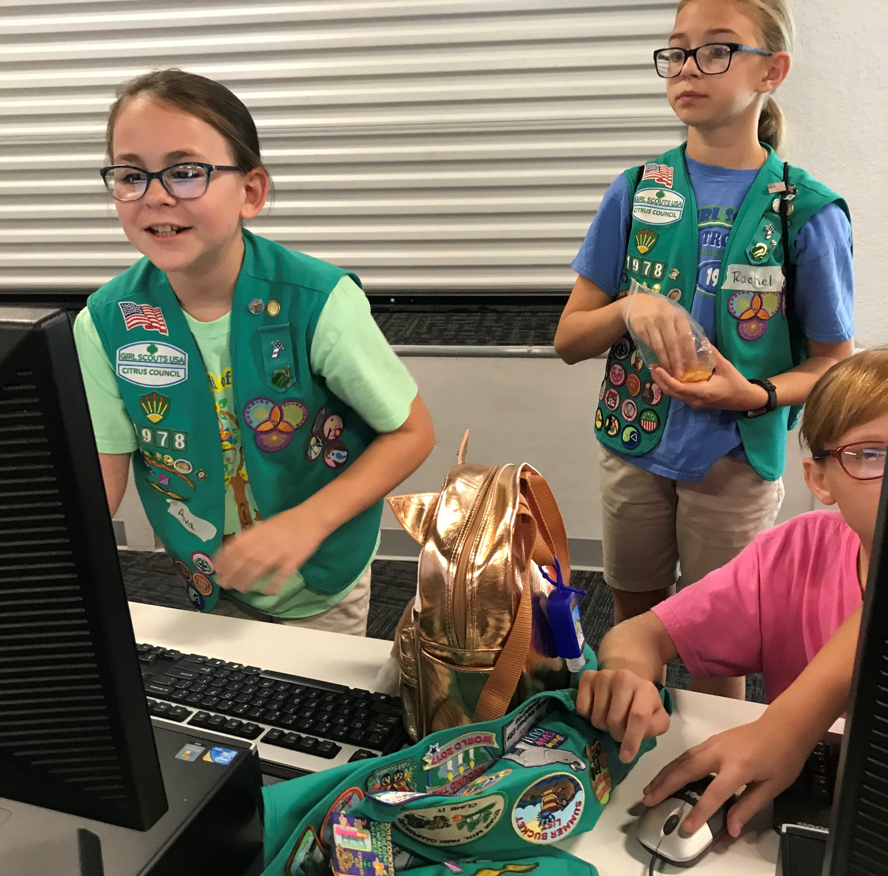 Computer coding and cookies: Girl Scouts are doing both