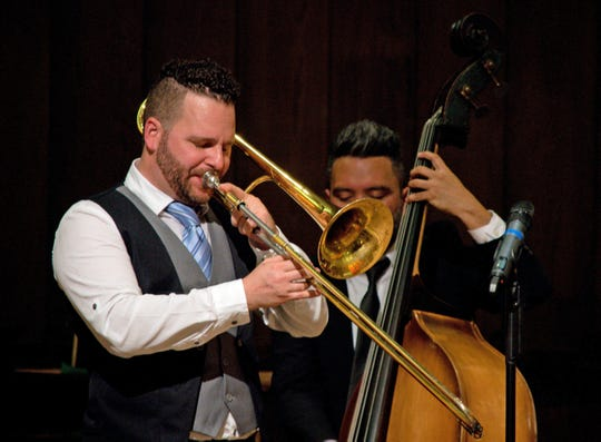 Trombonist Frank Wosar will lead the Space Coast Symphony Jazz Orchestra during Jazz Jam.