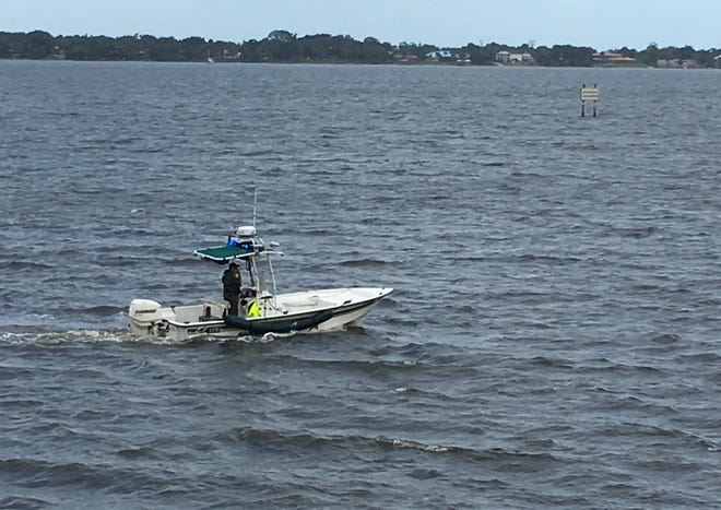 Police responded to a report of a body in the Indian River near Cocoa on Monday.