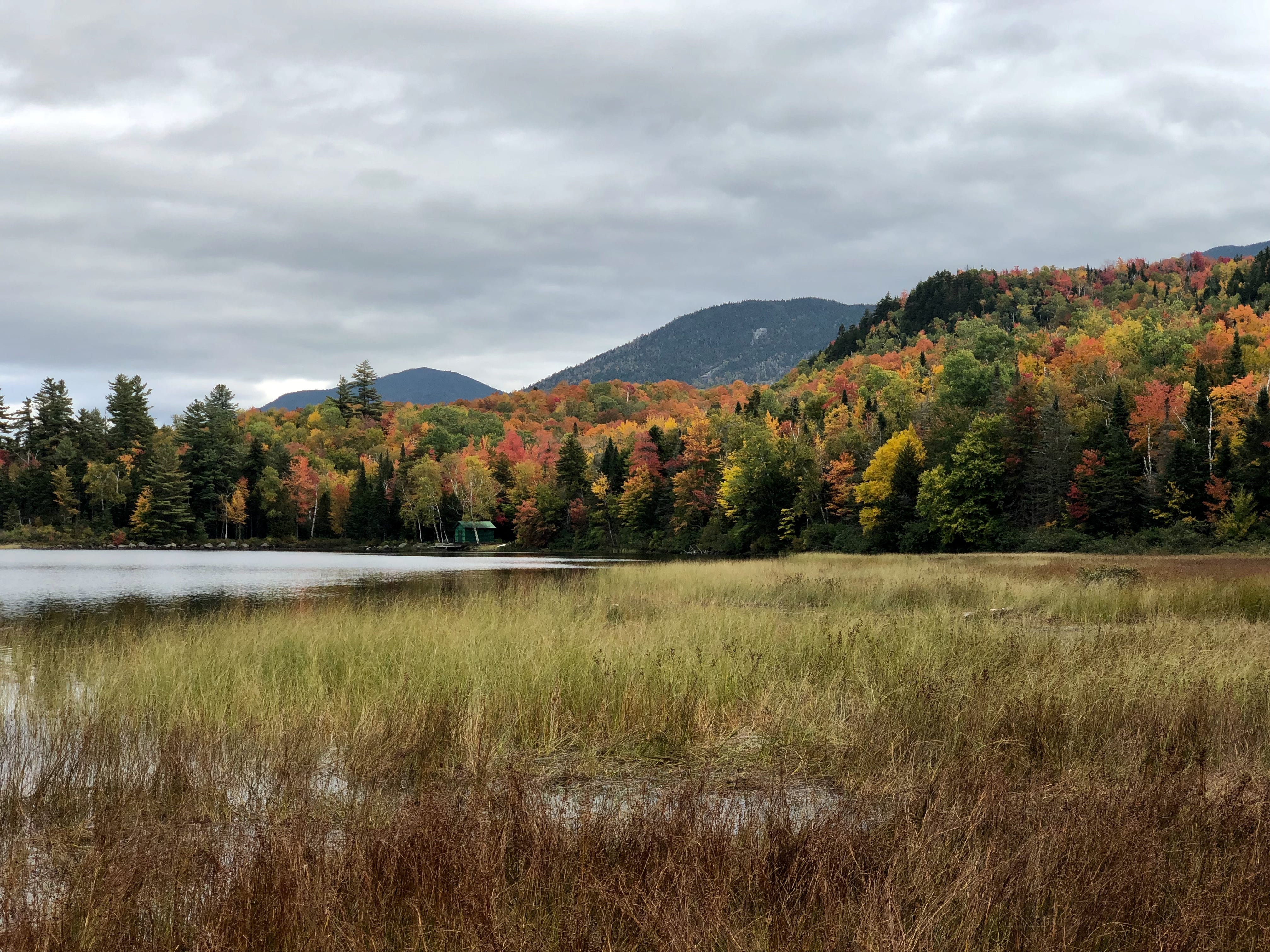 Connery Pond in Lake Placid, New York, on Oct. 6, 2018.