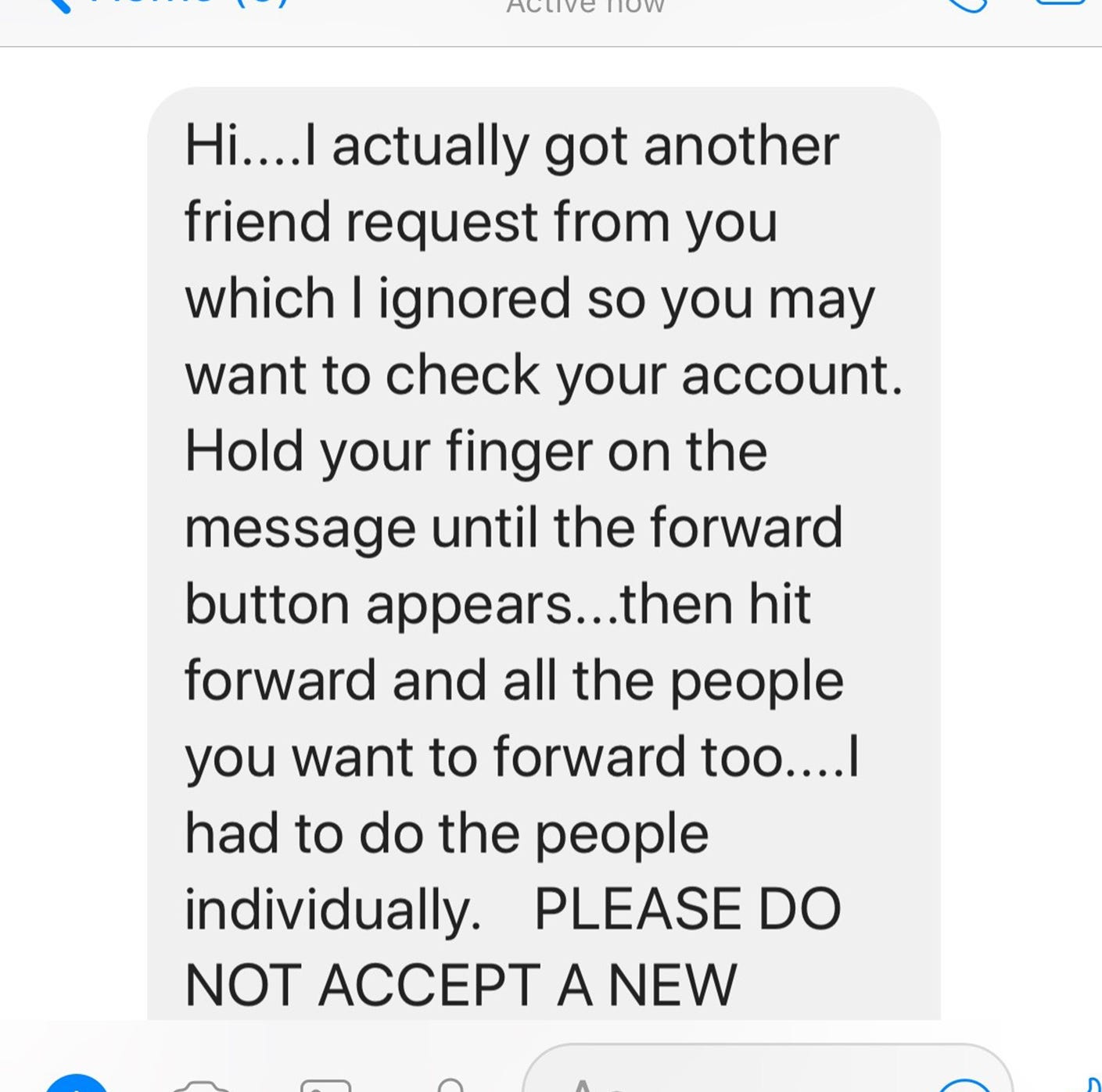 This Facebook hoax is making users believe their account was hacked