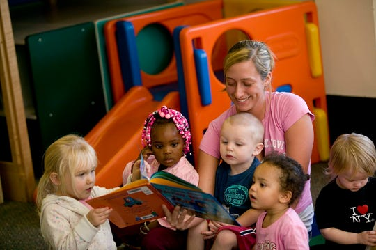 Cincinnati State students (and the community) enjoy convenient quality child care on campus in the William L. Mallory Early Learning Center, which is manned by Early Childhood Education students and leaders with Bachelor's and Master's degrees.