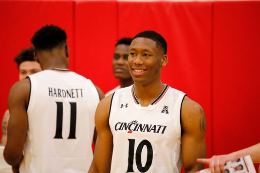 University Of Cincinnati Basketball Media Day