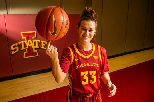 Iowa State point guard Alexa Middleton has plenty of NCAA Tournament experience.