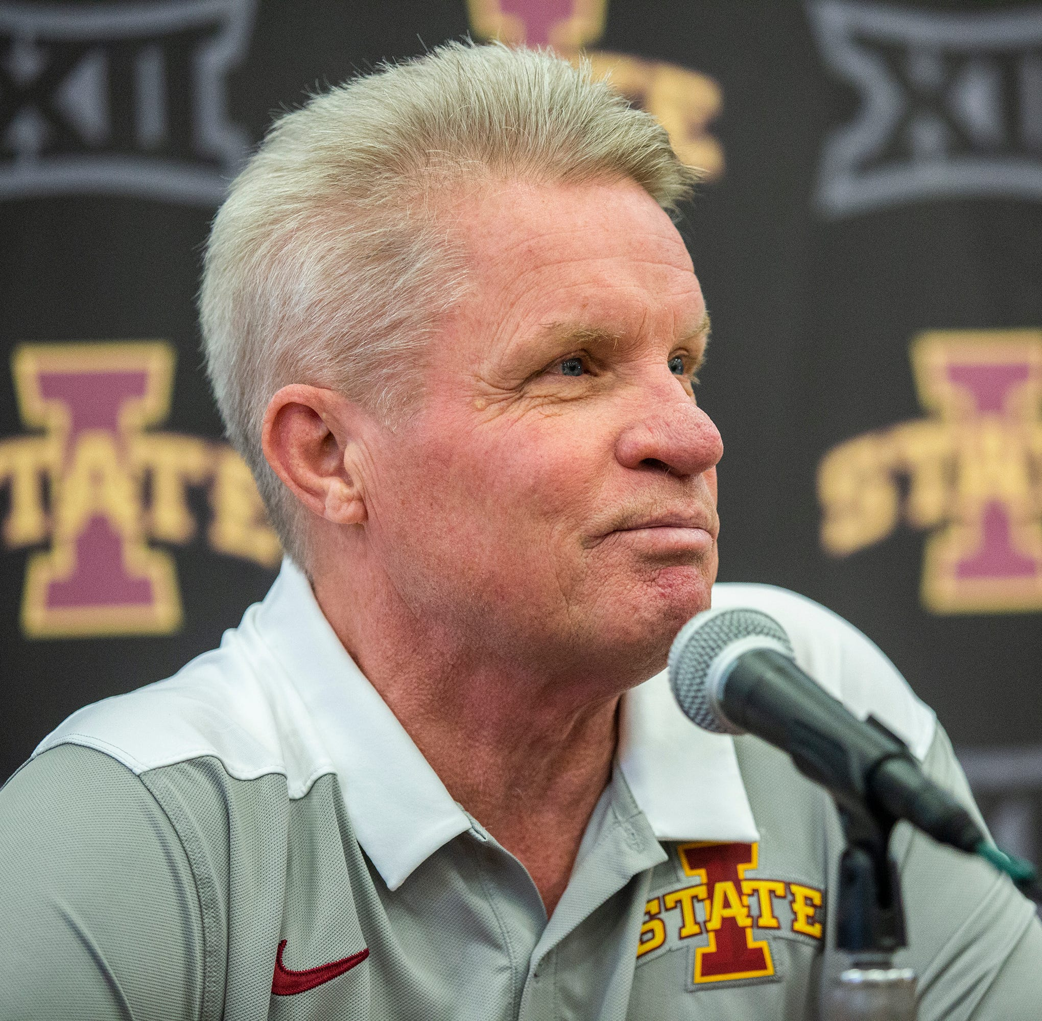 Iowa State Women's Basketball Coach Bill Fennelly...