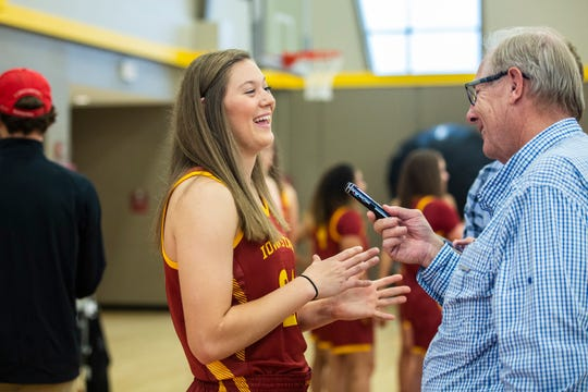 Freshman Ashley Joens is expected to play a big role for Iowa State this season.