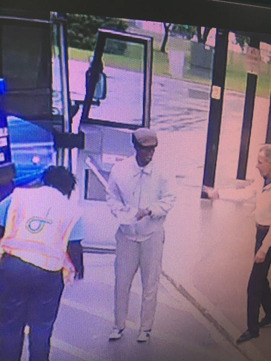 Surveillance footage shows Alonzo Higgins, 27, getting on a Greyhound bus bound for Minneapolis in Mason City. Investigators are still trying to locate Higgins, who was last seen Oct. 1, 2018.