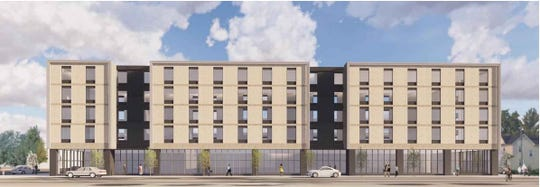 Nelson Development plans a 5-story Home2 Suites by Hilton at 26th Street and University Avenue across from Drake University's Old Main.