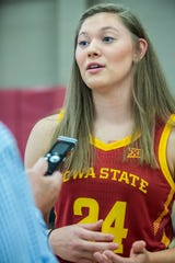 Iowa State's Ashley Joens was named to USA Women's U19 World Cup team.