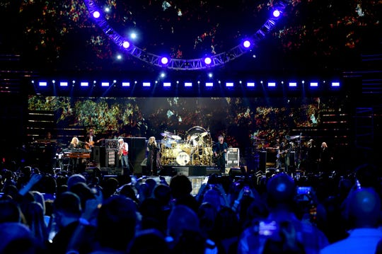 Fleetwood Mac performs onstage during the 2018 iHeartRadio Music Festival at T-Mobile Arena on Sept. 21, 2018 in Las Vegas.