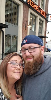 Nicole Wisner (left) and her husband Paul Wisner III were kicked out of a Kevin Hart Performance at the Little Caesars Arena on Oct. 5, because security guards believed they violated the comedian's strict no phone policy.