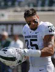 Michigan State linebacker Joe Bachie.