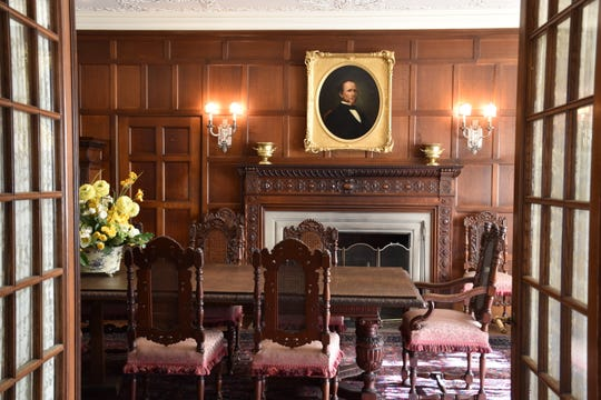 Cranbrook House dining room.