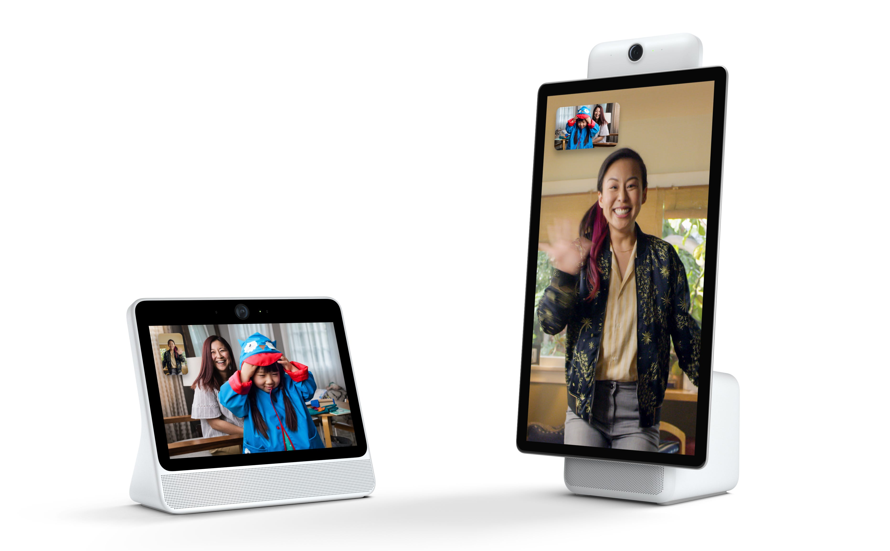 Facebook will offer Portal in two sizes.