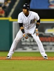 The Tigers' Victor Reyes was an asset on the basepaths, though the Rule 5 pick hit just .222 in his first major-league season.