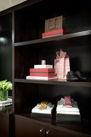 Boxes are an easy way to keep small items hidden and organized.