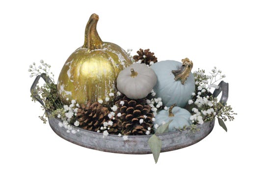 Create a tablescape for fall.