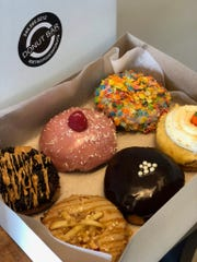 Donut Bar + Coffee gets creative with deluxe flavors and vegan options.