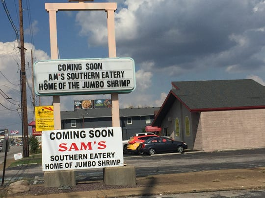 Sam's Southern Eatery is moving into the former Taco Tierra at 420 S. Green River Road.