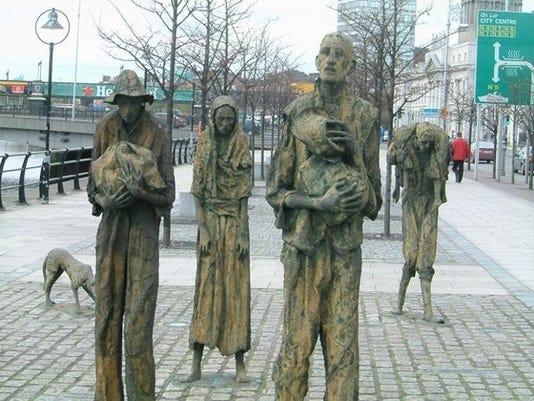 Potato Famine Memorial 2