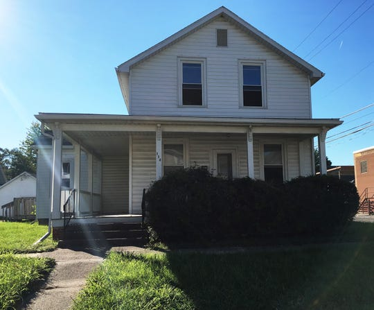This house at 114 S. Wayne St. in Fremont sold for $110,000 on Sept 21, 2018.