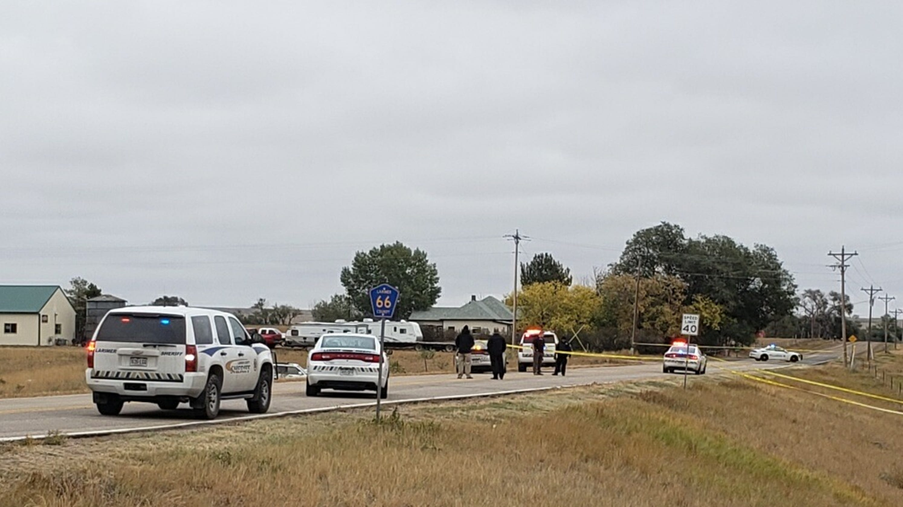 Suspect in Larimer County police shooting dies in hospital