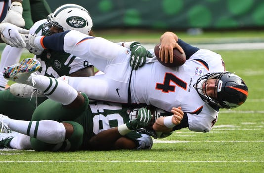 Nfl Denver Broncos At New York Jets