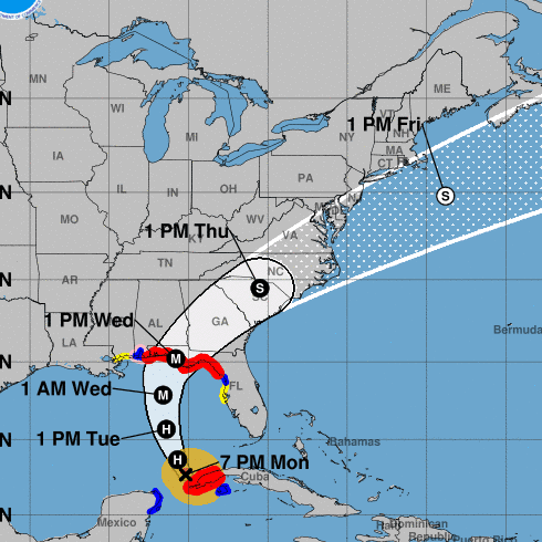 Hurricane Michael continues to strengthen with 85 mph winds; Scott warns 'This storm will be life-threatening'