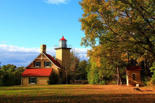 The Door County Historical Society holds a celebration of the 150th anniversary of Eagle Bluff Lighthouse on Oct. 15 on the lighthouse grounds in Peninsula State Park.