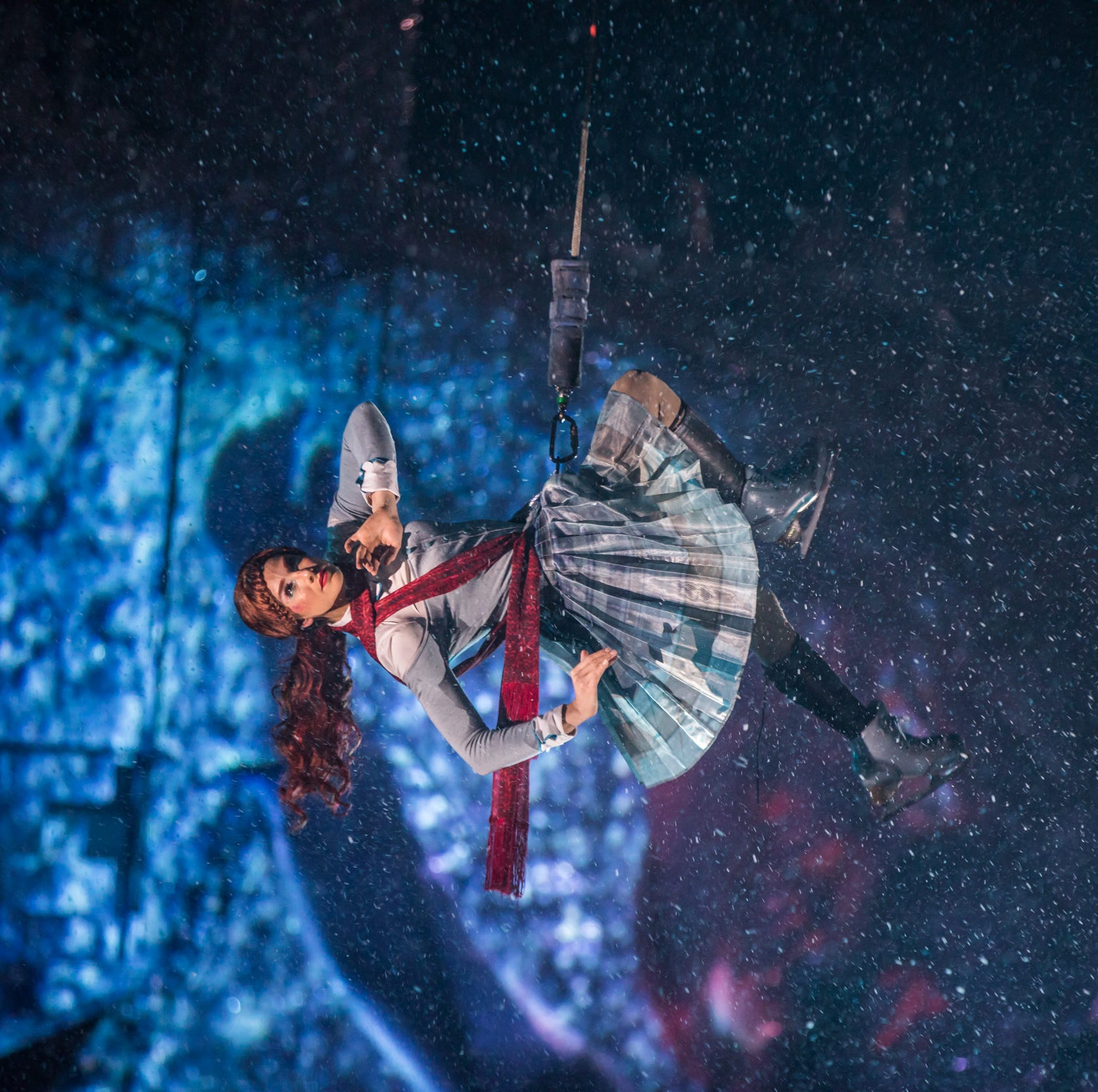 Acrobatics meet ice skating in 'Crystal,' a Cirque du Soleil first