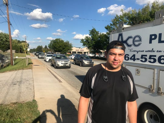 Sebastian Rojas has seen plenty of accidents in the White Horse Road-Blue Ridge Drive area, where he works with his father at their auto business.