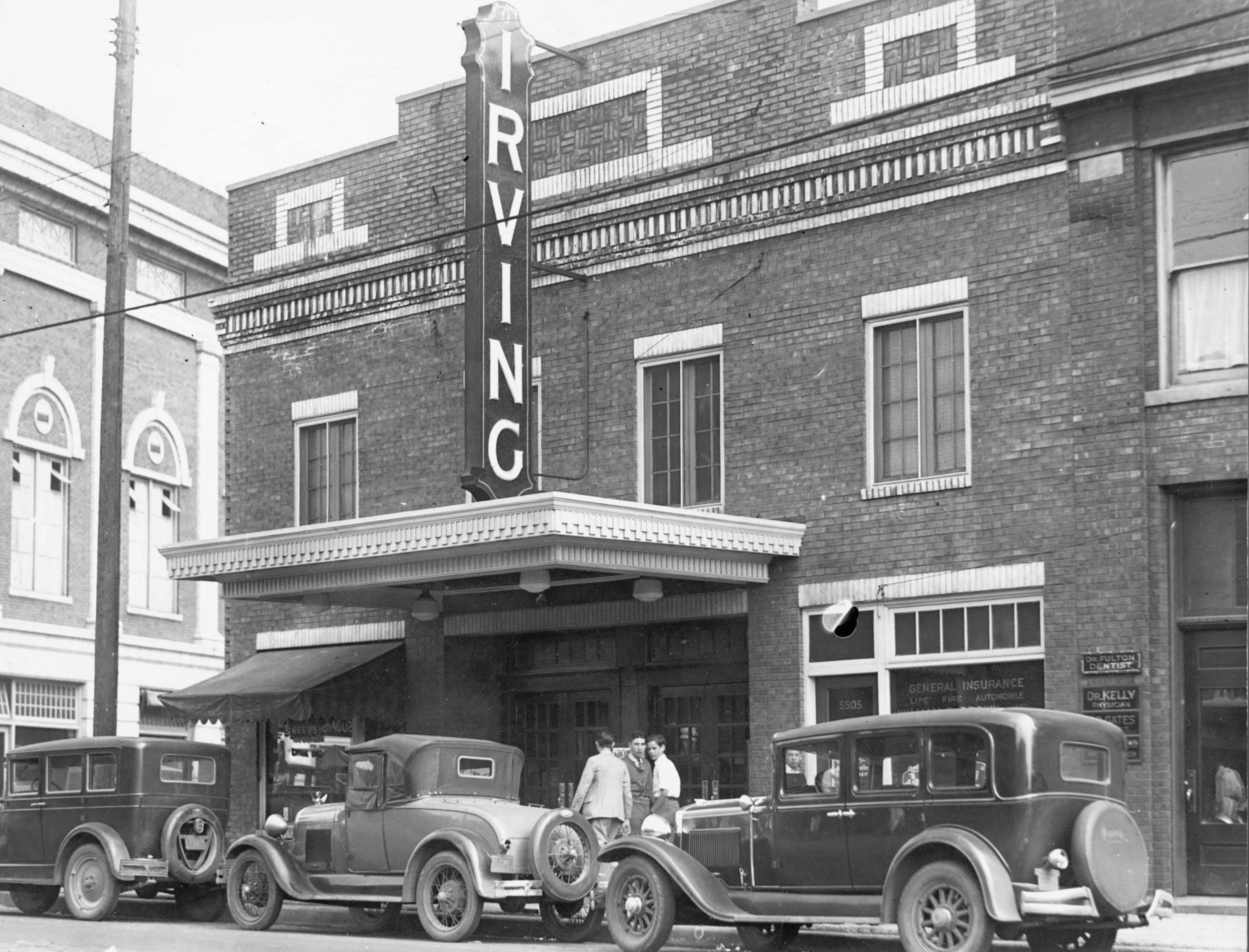 May 13, 1929 -- The Irving Theatre in Indianapolis, Indiana.