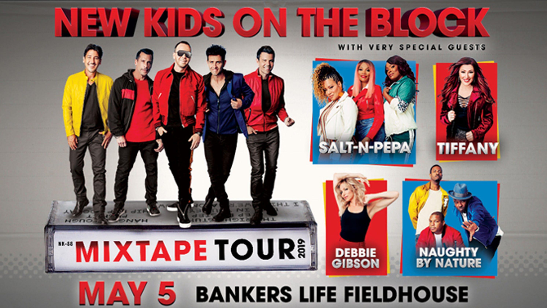 New Kids on the Block to headline old-school Bankers Life concert