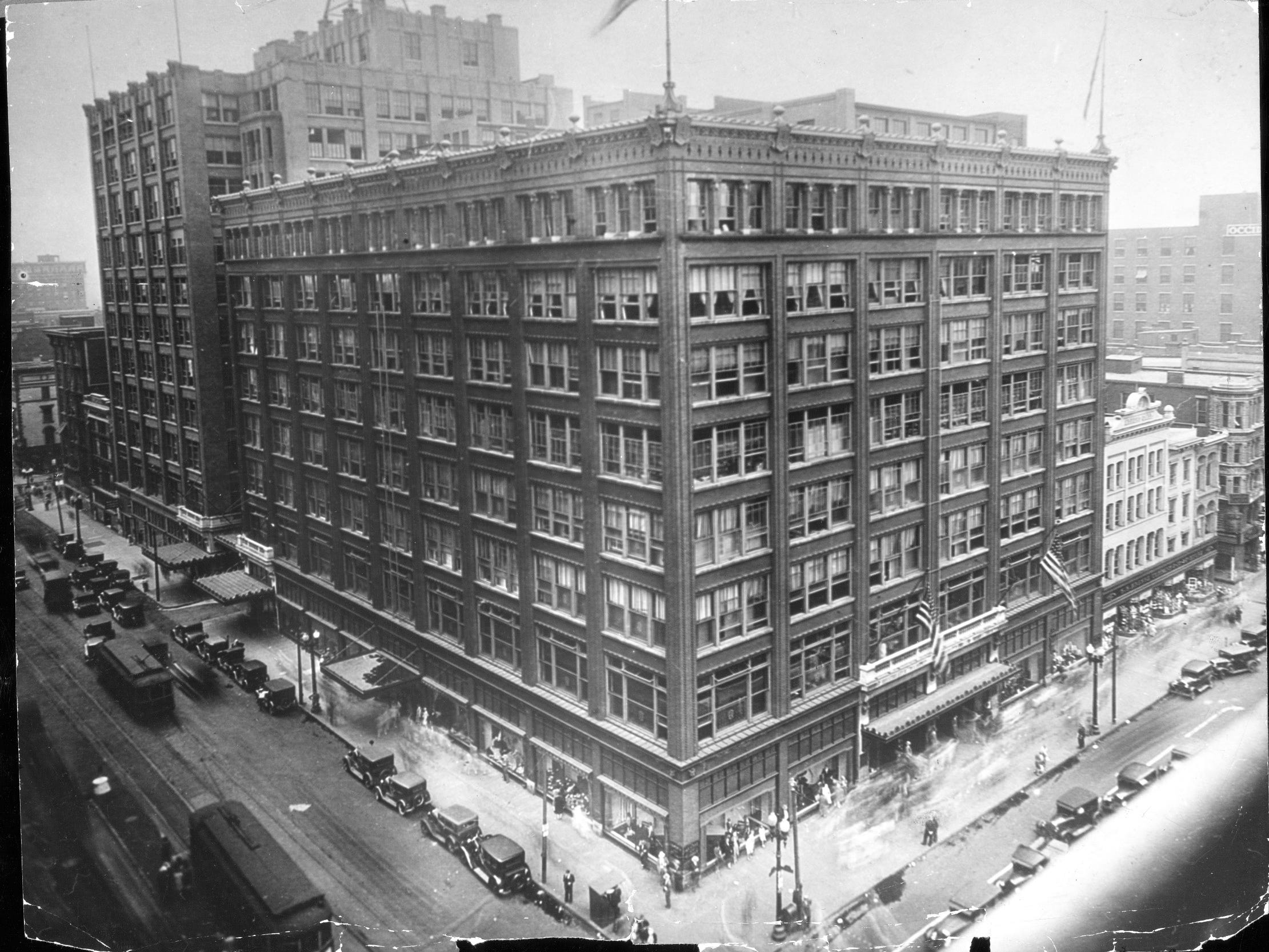 L.S. Ayres & Co. department store was always bustling looks pretty majestic in this Sept. 14, 1929 photo.