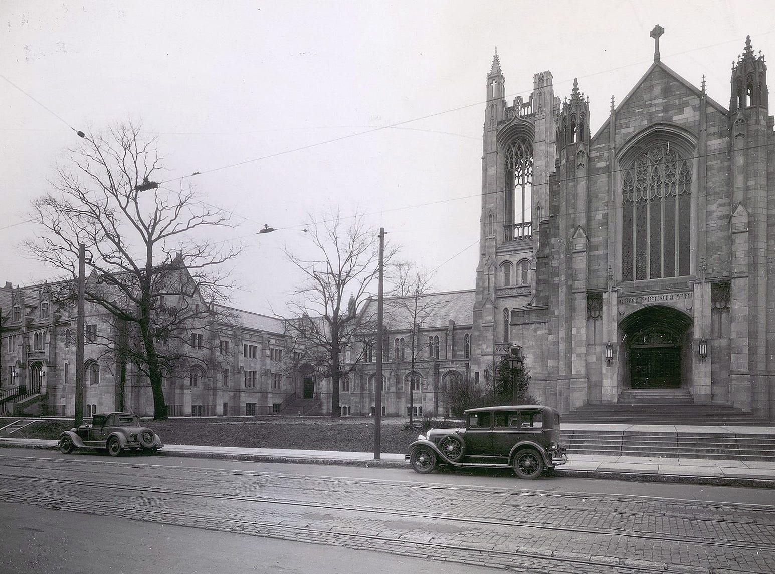 Tabernacle Presbyterian Church, Indianapolis circa 1929 34th and Central.