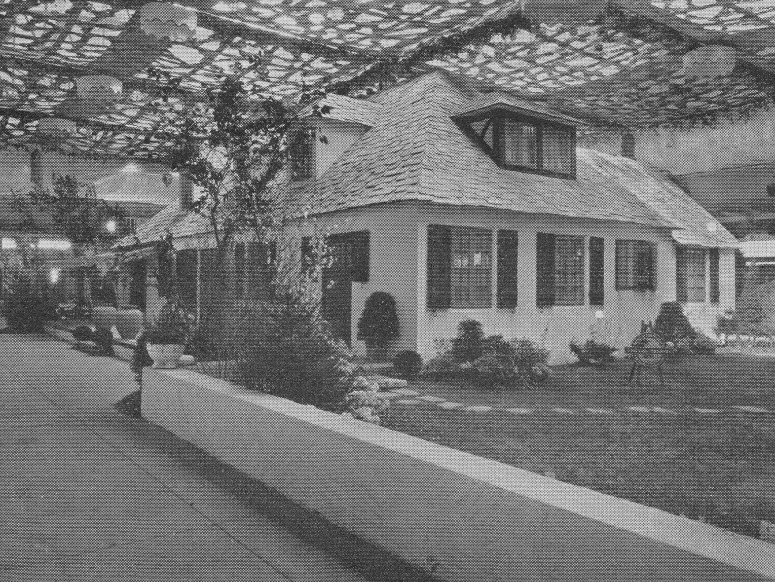 This French Chateau was the 1925 centerpiece home at Indianapolis Home Complete Exposition at the Indiana State Fairgrounds.