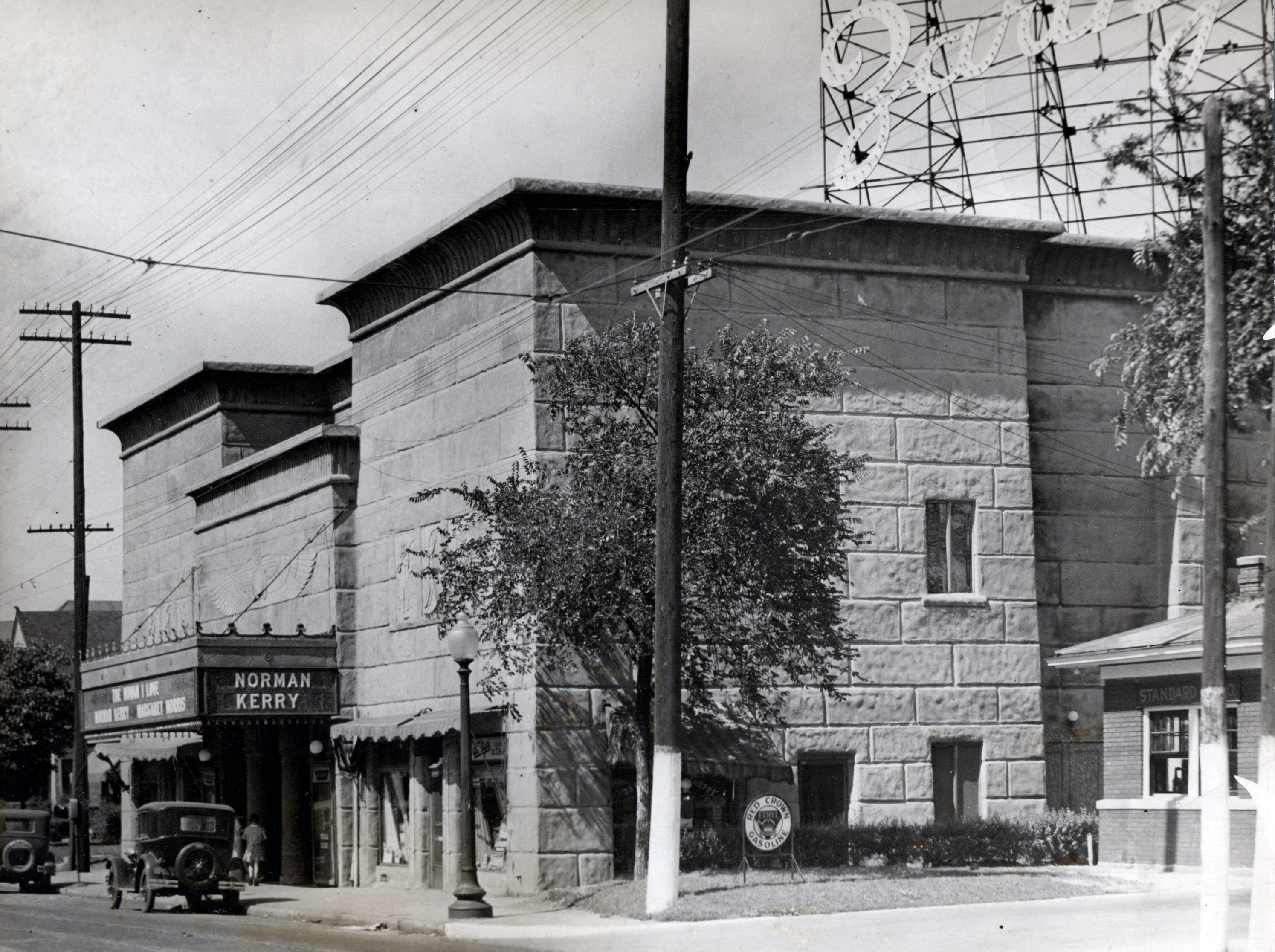 Exterior of Zaring Theater (07/08/1929)