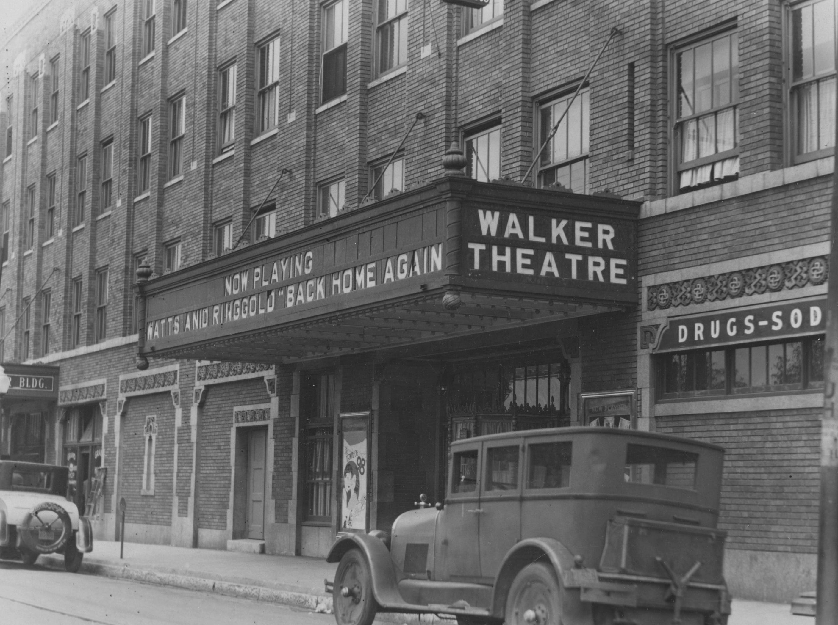 "Watts and Ringgold, brought their vaudeville stage show ""Back Home Again"" to the Walker Theatre in November 1928."