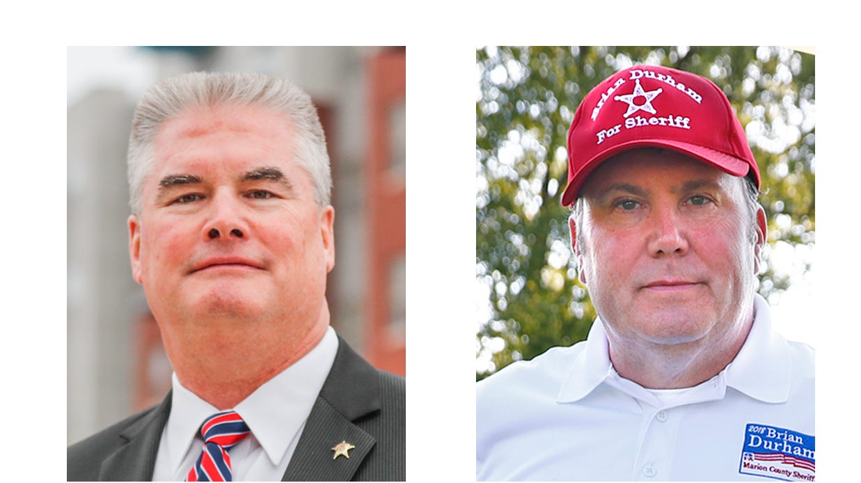 Marion County Sheriff Race Pits Insider Vs Candidate Urging Change