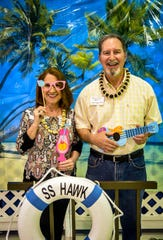 Butch and Kathy Haney Williams enjoyed her SSHS 50-year reunion on Aug. 18, 2018, at South Jackson Community Center.