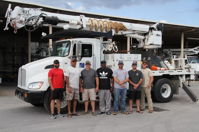 JEA has deployed a 7-person crew ahead of Hurricane Michael, expected to hit the East Coast Wednesday, Oct. 10, 2018.