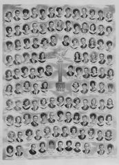 South Side High School – Class of 1968 (Class composite hangs in hallway)