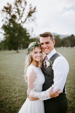"""Bringing Up Bates"" stars Josie Bates and Kelton Balka got married at Cove Lake State Park on Friday."