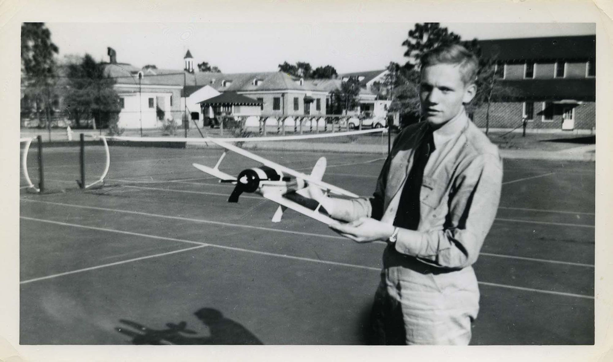 Armstrong Papers/Purdue Special CollectionsNeil Armstrong?s fascination with flight dated to his school days before he arrived at Purdue.