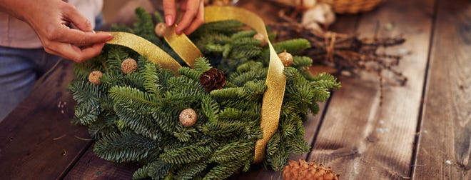 We'll bring the supplies and show you how to make the perfect handmade wreath to decorate your front door this season.