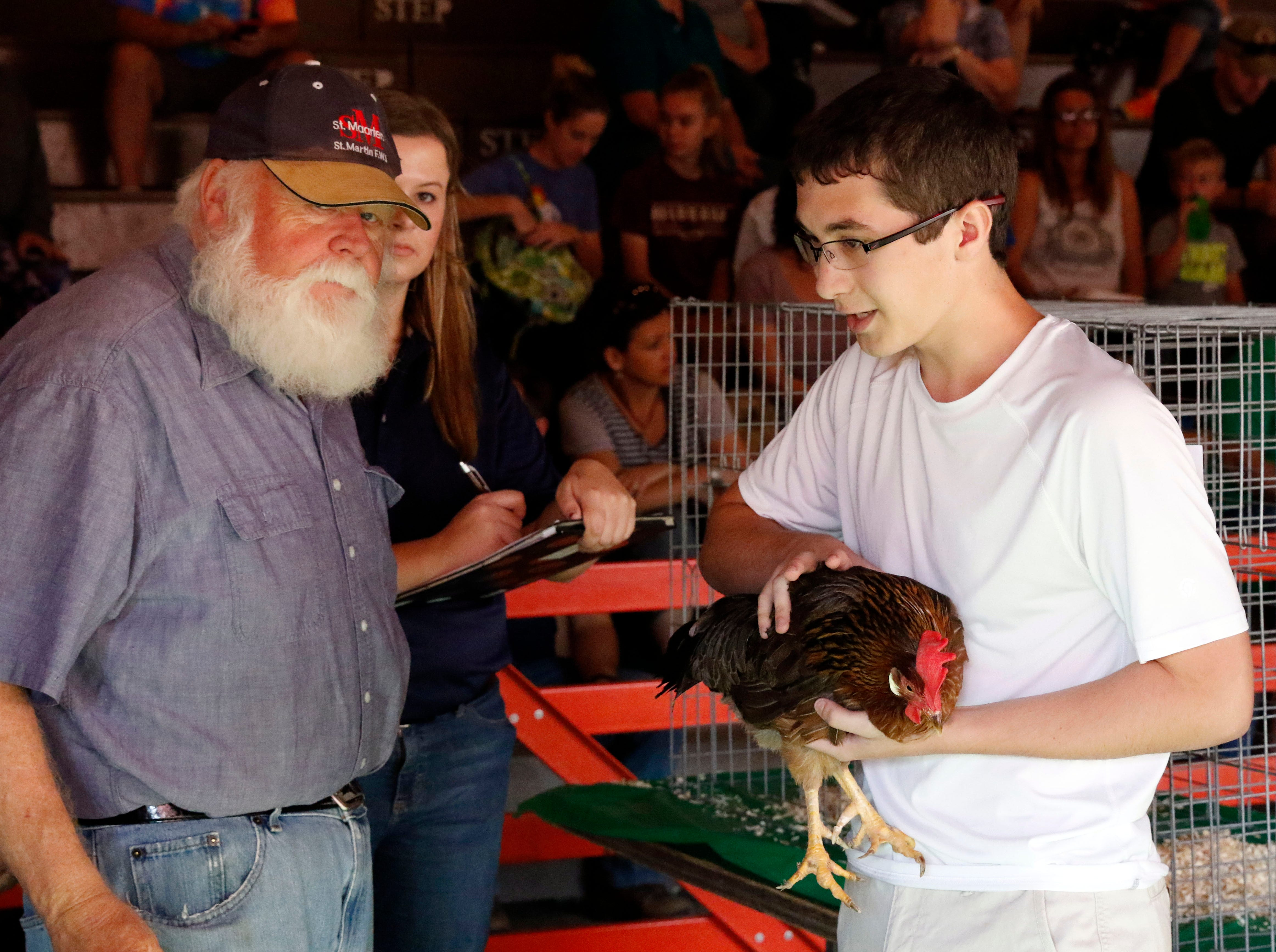 The Fairfield County Junior Fair continued Monday, Oct. 8, 2018, in Lancaster.