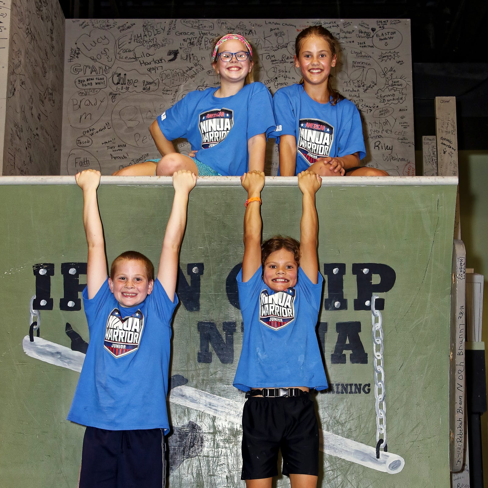 Junior ninjas from Dimondale to compete on national TV